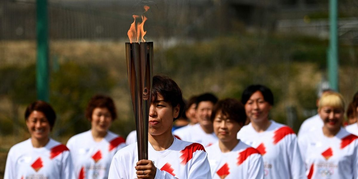 Olympic Torch Relay Kicks Off Tokyo Summer Games [Video]