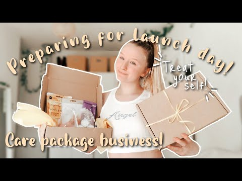 PREP WITH ME FOR LAUNCH DAY | Starting a small business in 2021! [Video]