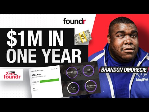 From Flipping Burgers to $1M Dollars a Year | Brandon Omoregie on Starting a Business [Video]