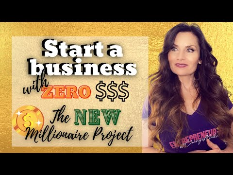 How To Start A Business With NO MONEY: The NEW MILLIONAIRE Project – cryptocurrency for beginners [Video]