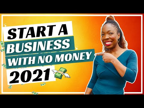 How to start a business with no money in 2021 [Video]