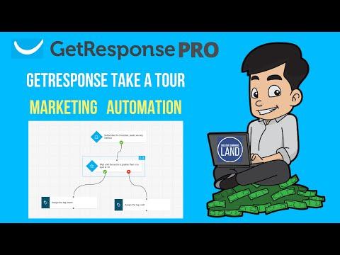 GetResponse Marketing Automation, GetResponse Landing Pages, GetResponse Webinars, GetResponse Email [Video]