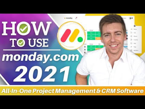 Monday.com Tutorial for Beginners | Free All In One Project Management & CRM Software [Video]