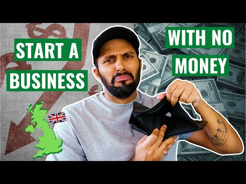 How To Start A Business With No Money UK [Video]