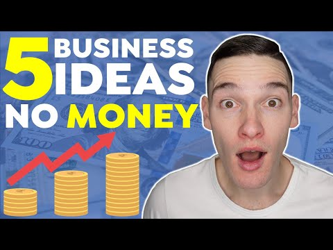 5 Business Ideas To Start With No Money | How To Start A Business With No Money [Video]