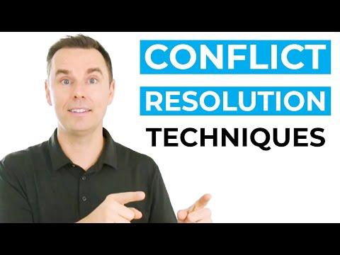 5 Conflict Resolution Techniques [Video]