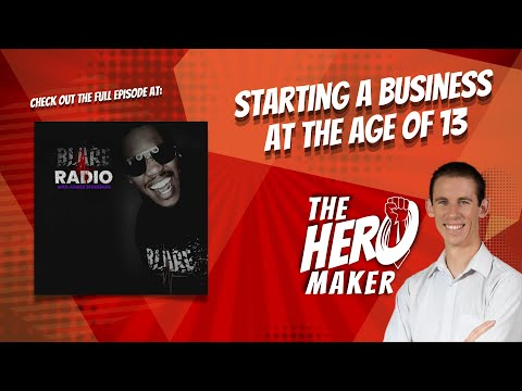Starting a Business at the Age of 13 [Video]