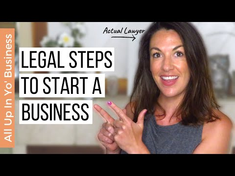 How to Legally Start a Business   Tips for Starting a Business in 2021 [Video]