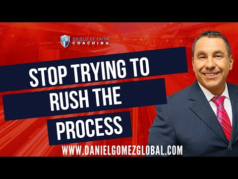 Daniel Gomez Inspires | Award-Winning Executive & Business Coach | Stop Trying To Rush Everything [Video]