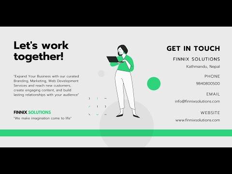 Finnix Solutions Services – Branding, Marketing, Web Development, Social Media Management [Video]