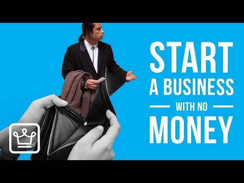 15 Steps to start a business from scratch with (almost) no money | start a business with no money. [Video]