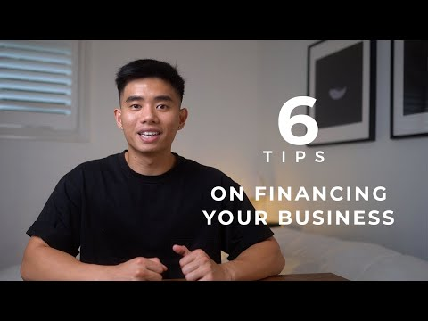 6 Tips on How To Finance Your Business in 2021 [Video]