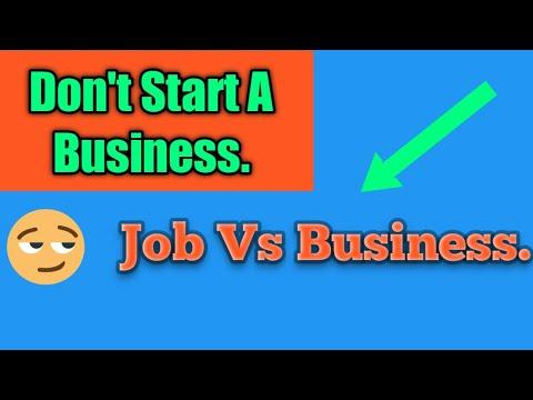 Job or Business | Job vs Business [Video]