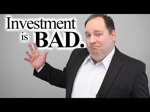 Startup Concepts:  Why Investment is Bad [Video]