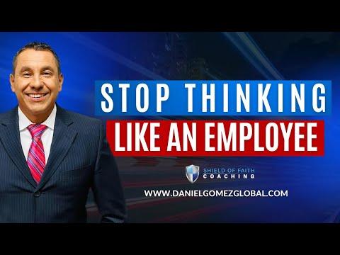 Daniel Gomes Inspires   San Antonio Business & Executive Coach   Stop Thinking Like an Employee [Video]