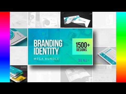 Stationery Template Design: Corporate Business Branding Bundle [Video]