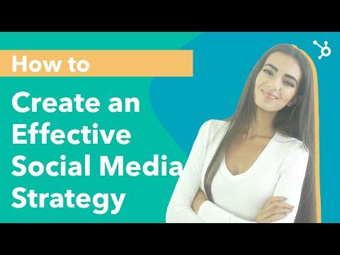 How To Create An Effective Social Media Strategy (Social Media Calendar) [Video]